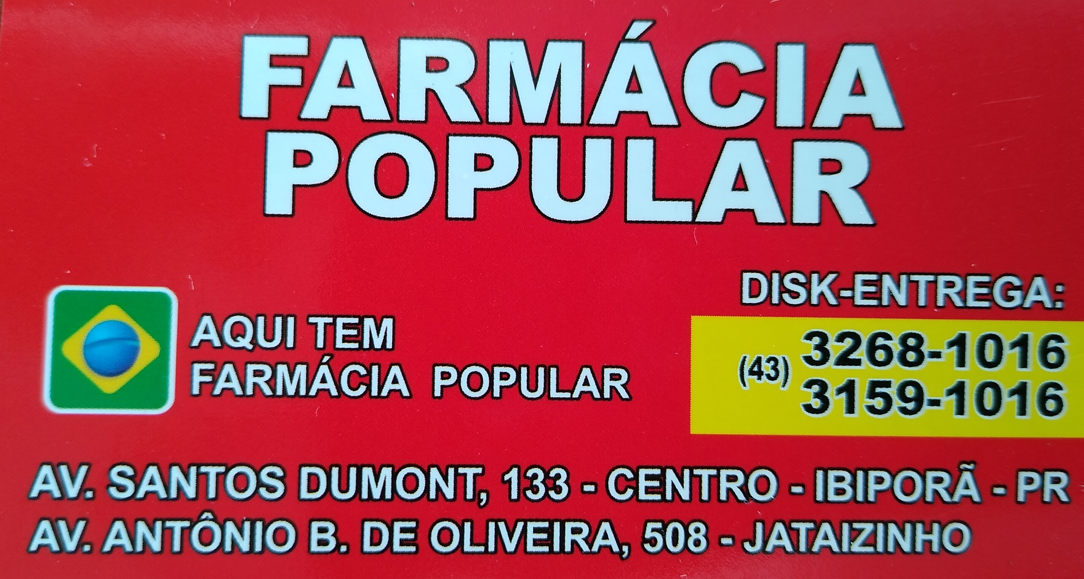 FARMÁCIA POPULAR DO VALDERI E DO LUCIANO A VERDADEIRA FARMÁCIA POPULAR